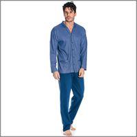 BIP BIP pigiama uomo aperto con tasche 6134 caldo cotone BIP BIP