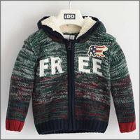 Ido maglione aperto con cappuccio 4k579 bambino ido