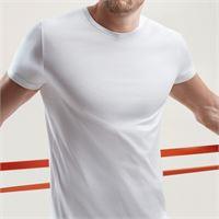 PEROFIL t-shirt girocollo filo scozia active 320 PEROFIL