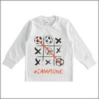 IDO t-shirt manica lunga in cotone 4j229 bambino IDO