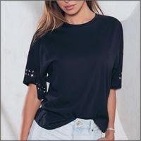 Jadea t-shirt donna mezza manica 4151 jadea