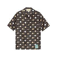 Gucci camicia con stampa Gucci x ken scott - nero