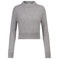 Alexander McQueen pullover cropped in cashmere
