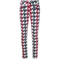 Perfect Moment pantaloni skinny aurora con stampa - bianco
