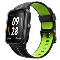 Ulefone orologio gps - 40 giorni durata della batteria, smartwatch impermeabile 5atm, schermo 1,3, cardiofrequenzimetro fitness tracker, polso contapassi smartband cronometro per ios android verde