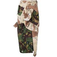 Preen By Thornton Bregazzi gonna a matita patchwork camouflage - verde