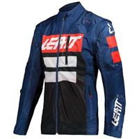 Leatt - giacca enduro Leatt gpx 4.5 x-flow blue