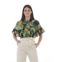 Twinset camicia donna maniche corte