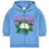 Gucci - embroidered hoodie 6 anni