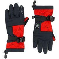 Spyder bambini - bambino - guanti da sci - overweb - m (5.5) - rosso