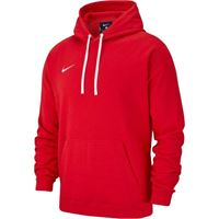 NIKE felpa bambino team club 19 hoodie rosso [21103]