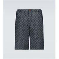 Gucci shorts di jeans gg