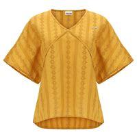 Freddy t-shirt vintage comfort fit taglio a kimono in sangallo