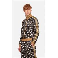 Gucci giacca con zip e stampa ken scott x Gucci