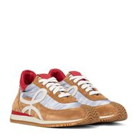 LOEWE sneakers flow runner in suede e mesh
