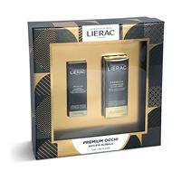 Lierac premium - cofanetto maschera anti-età 10ml + trattamento occhi 15ml