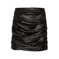 Dolce & Gabbana minigonna a vita alta in pelle