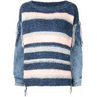 TWINSET maglione a righe - blu