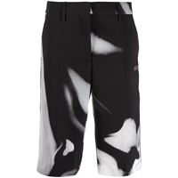 Off-White shorts sartoriali liquid melt - nero