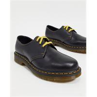 Dr Martens - 1461 - scarpe stringate con tre occhielli grigio scuro