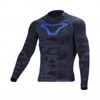 Macna maglia intima Macna base-layer nero grigio