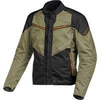 Macna giacca moto touring Macna solute nero green orange