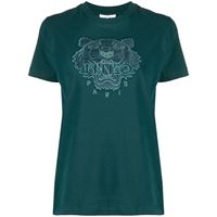 Kenzo t-shirt con motivo tiger - verde