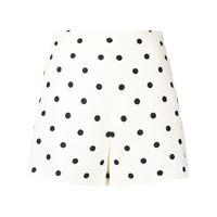 Valentino shorts a pois - bianco