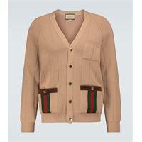 Gucci cardigan in misto lana web