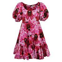 ALEXANDER MCQUEEN vestito donna 610403qcabb5033 cotone fucsia