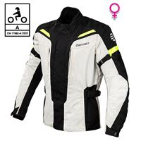 BEFAST giacca moto donna befast pro rider lady ce certificata nero grigio