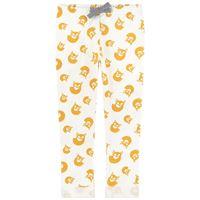Petit Bateau - fox pantaloni in felpa bianchi - bambino - 6 mesi - ecru - avorio