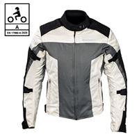 BEFAST giacca moto befast street ce certificata nero grigio