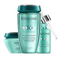 Kerastase trio extentioniste shampoo + maschera + siero capelli più lunghi