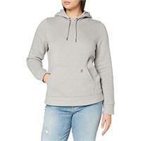 Carhartt clarksburg pullover sweatshirt felpa con cappuccio, black, x-large donna