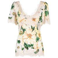Dolce & Gabbana top con stampa - toni neutri