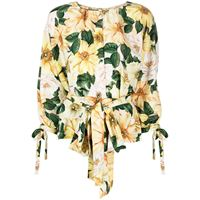 Dolce & Gabbana blusa con stampa - toni neutri