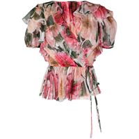 Dolce & Gabbana top con ruches - rosa