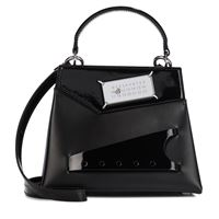 Maison Margiela borsa snatched small in pelle