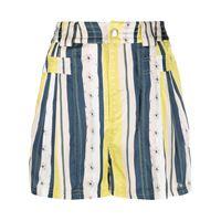 Koché shorts a righe - blu
