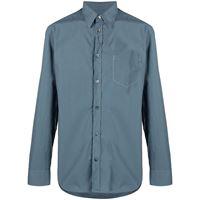 Maison Margiela camicia - blu