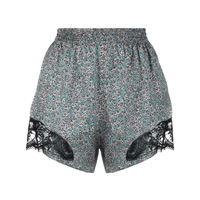 Paco Rabanne shorts a fiori - blu