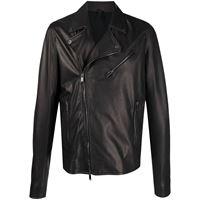 Tagliatore giacca biker - nero