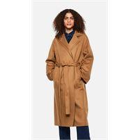 Loewe cappotto doppio strato con cintura in lana e cashmere