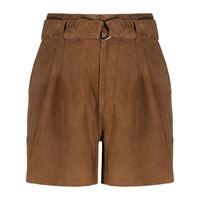 P.A.R.O.S.H. shorts con cintura - marrone