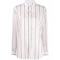 MAISON MARGIELA camicia donna s51dl0328s52582001f cotone bianco