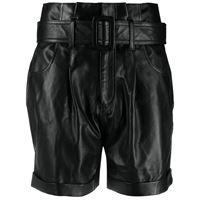 Federica Tosi shorts a vita alta - nero