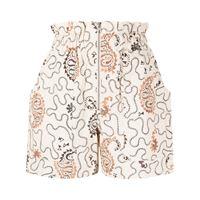 Isabel Marant Étoile shorts con stampa paisley - toni neutri