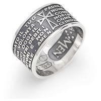 Amen anello uomo gioielli Amen padre nostro italiano pnb925-22