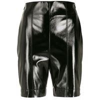 Gloria Coelho shorts con zip laterale - nero